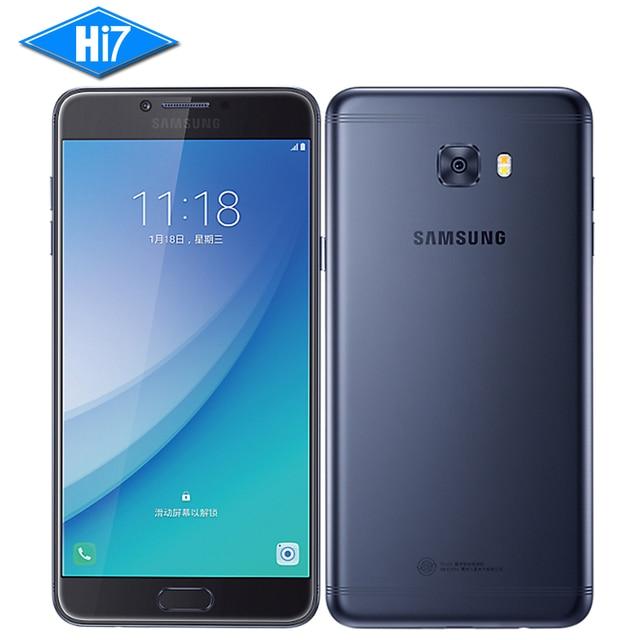 "2017 New Original Samsung Galaxy C7 Pro Smartphone 4G RAM 64G ROM Octa Core Dual SIM 5.7"" 3300mAh 16MP 4G LTE Mobile Phone"