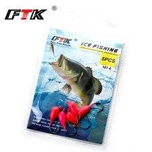 FTK 5pcs Ice Fishing Jig Bait Carp Fishing hooks Lead Hard Hook Winter  fishing accessories Ocean Lake River Bait Fishing Hook