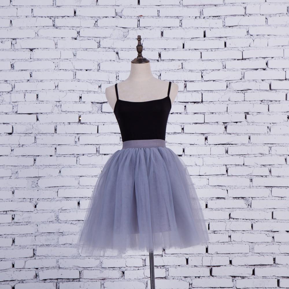 FOLOBE Vintage Style 5 sluoksniai Stock 12 Spalvos Dancewear Ball - Moteriški drabužiai - Nuotrauka 4