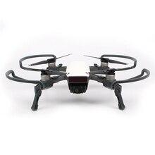 SunnyLife для DJI Spark Drone Интимные аксессуары integrated Пропеллеры Protector + Шасси повышенной расширение 4 шт. Опора защиты