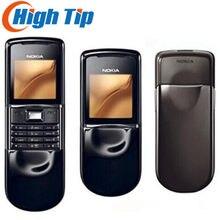 100% originale Nokia 8800 s 8800 sirocco tastiera russa sbloccata cellulare 128MB memoria interna Singapore post ricondizionato