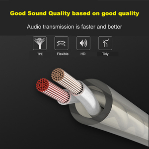 Image 3 - Duszake  Stereo Bass Headphone In Ear 3.5MM Wired Dual driver Earphones Metal HIFI Earpiece with MIC for Xiaomi Samsung Phones