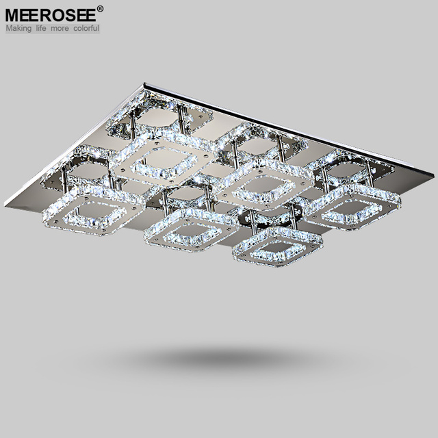 modern led diamond crystal ceiling light fitting crystal lamp for