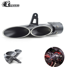 FOR YAMAHA R6 2006-2015 stainless steel high quality Modified exhaust TOCE modified pipe bomb personality Street