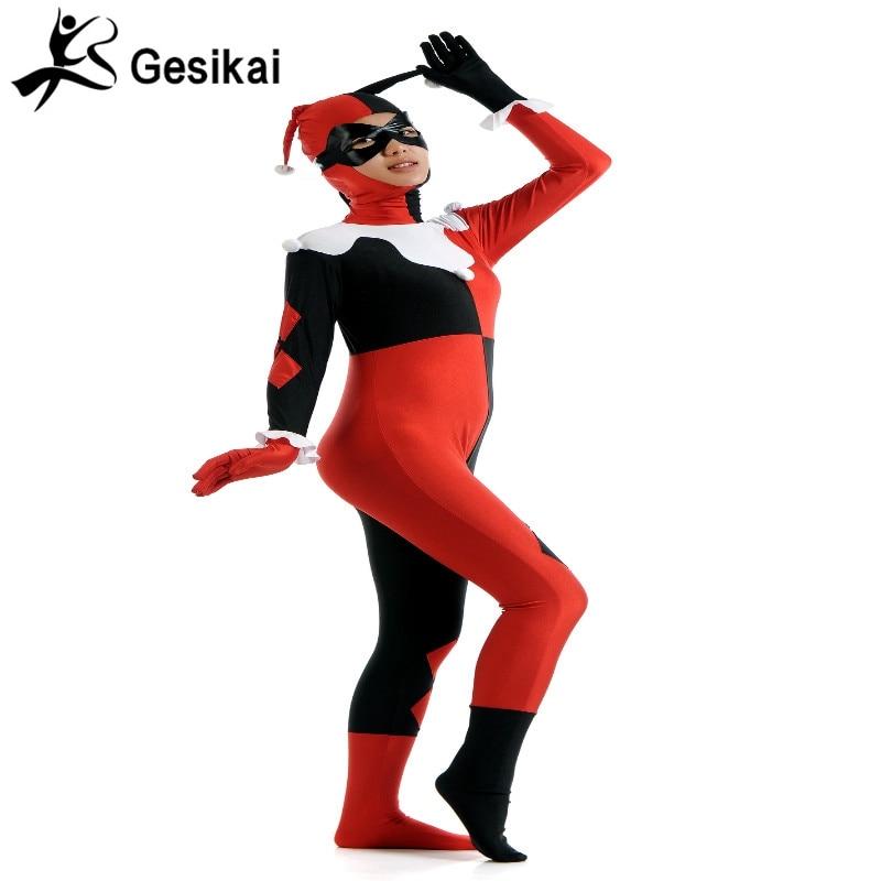 Әйелдердің сиыр қызы Zentai Толық Bodysuit - Костюмдер - фото 3