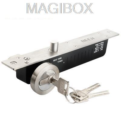 1000KG/2200LB high quality fail secure electric door bolt lock for door + keys for access control system 12v 5 wire electric bolt lock electric drop bolt lock with bolt status detection output fail safe fail scure