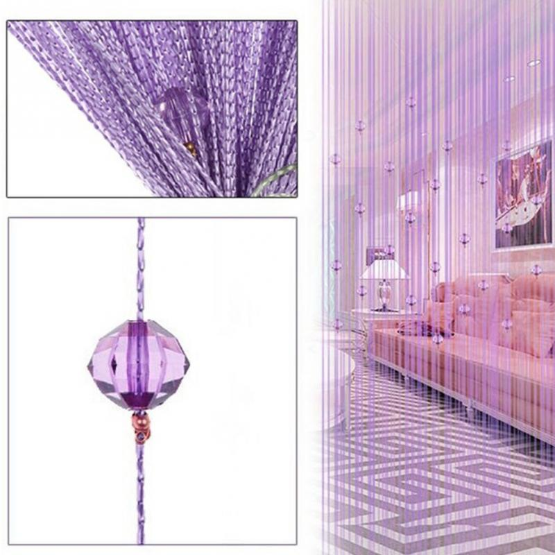 200 100cm Decorative String Curtain With Cristal Beads