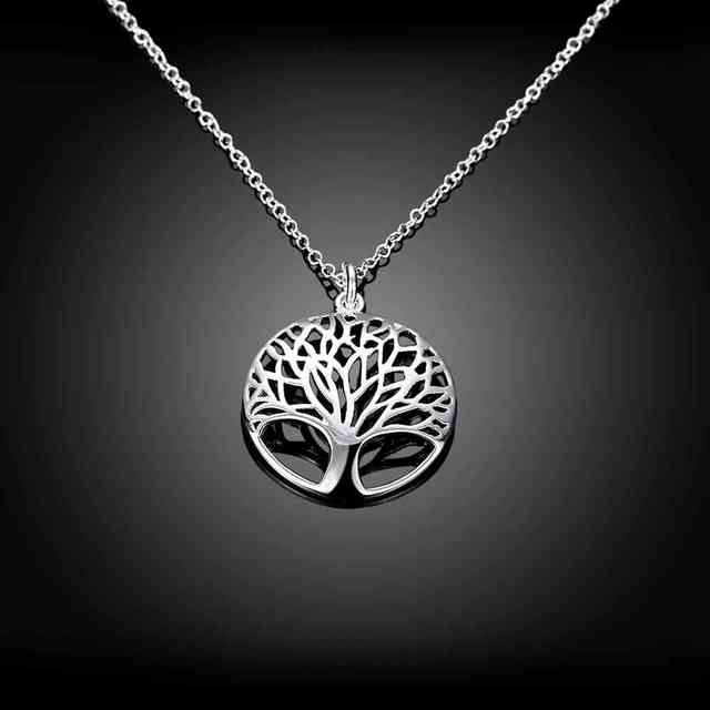 Tree Of Life Necklaces Sterling Silver  baby girl necklace amazon