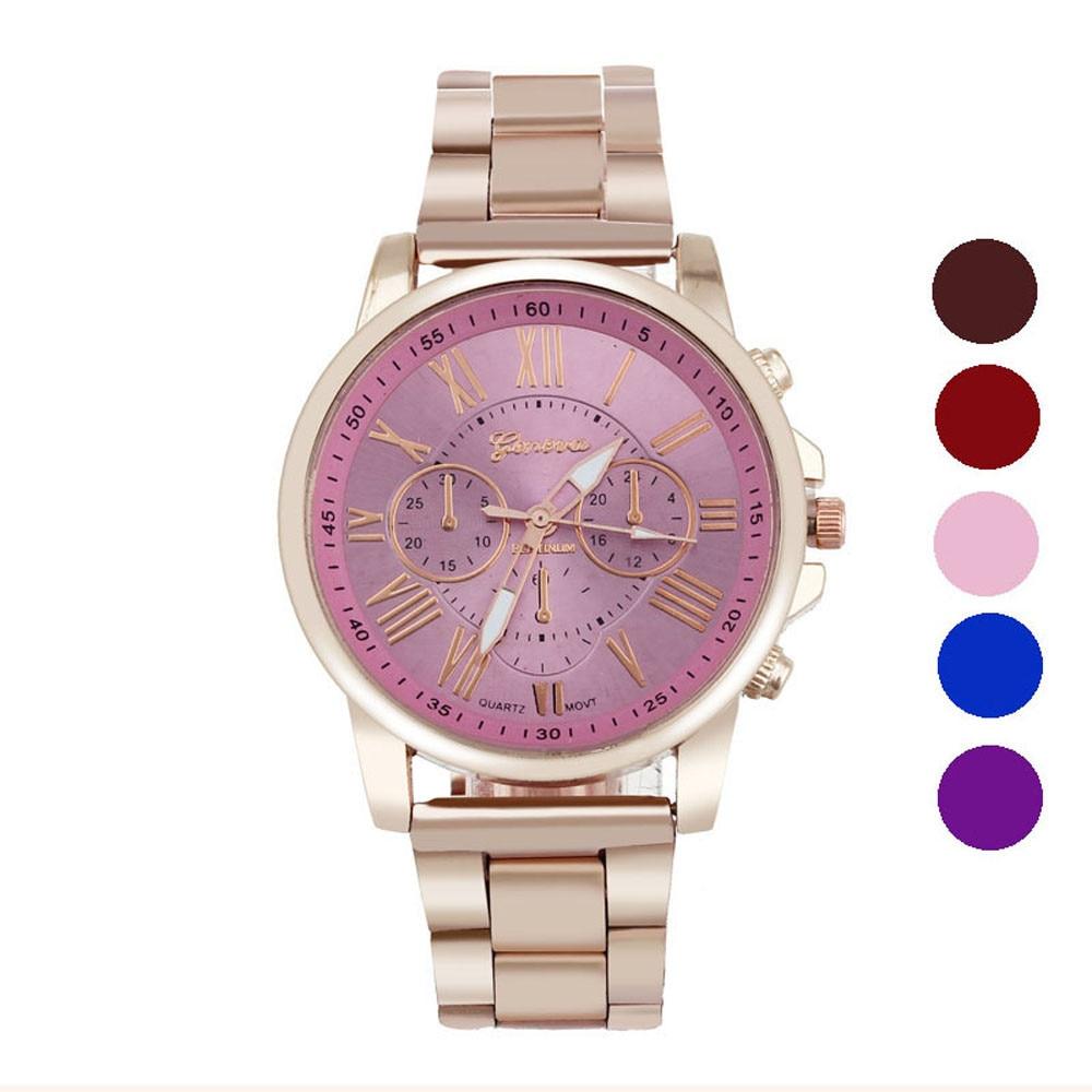 Unisex Men Women Watch Luxury Stainless Steel Quartz Sports Dial Wrist Watch Comfortable High Qulity relogio masculino