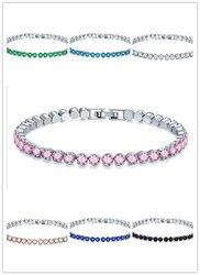 2019 heißer Luxus 8-farbe runde armband weiblich kreuz-grenze armband armband Kristall von Österreichischen Fit DW für frauen Party