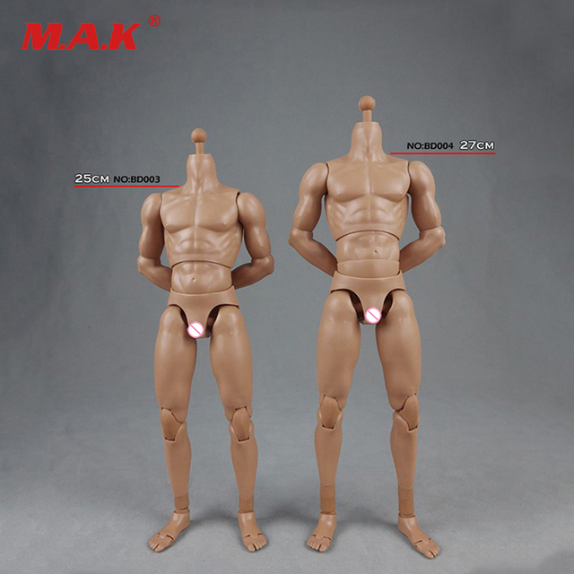 1/6 2.0 Muscle Male Body BD003 /BD004 Wide Shoulder Normal/High Version Action Figure Skin color