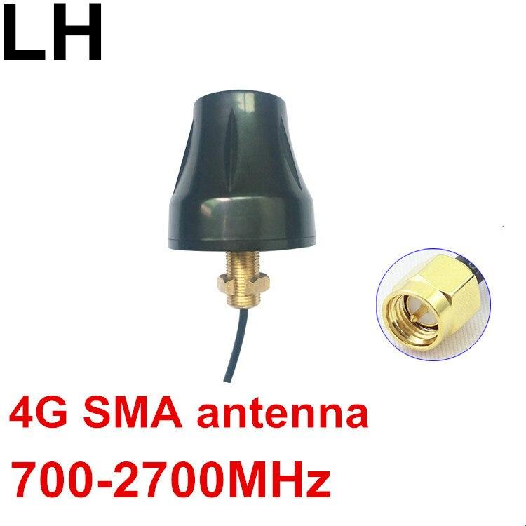 Antenne OSHINVOY 4G OMNI filetage 700-2700 MHz LTE sans antenne SMA au sol 4G antenne SMA à gain élevé RG174