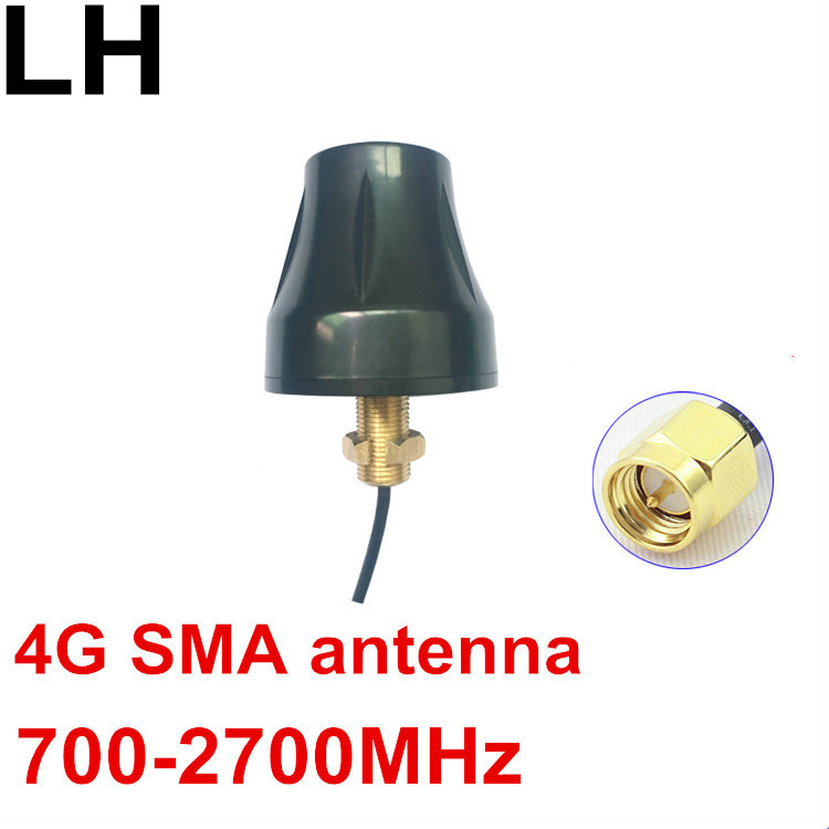 OSHINVOY 4G OMNI vis fil antenne 700-2700 MHz LTE aucun motif SMA antenne 4G à gain élevé RG174 SMA antenne