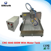 Stone Marble Engraving Cnc Router 6040 800w Spindle Usb With Water Tank