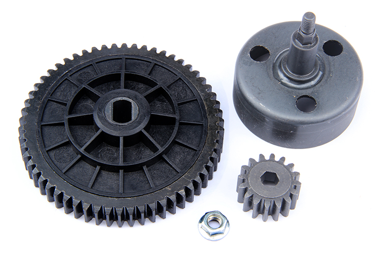 1/5 scale rc baja parts Rovan rc car spare parts New upgraded clutch bell gear set ( torque 16/58) 95078 front diff gear differential gear for wltoys 12428 12423 1 12 rc car spare parts