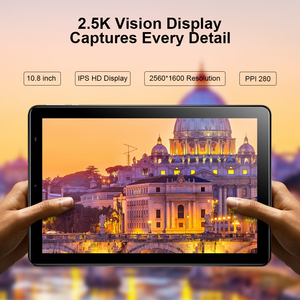 "Image 2 - CHUWI Hi9 בתוספת Helio X27 Deca Core אנדרואיד 8.0 Tablet PC 10.8 ""2560x1600 תצוגת 4GB RAM 128GB ROM 4G שיחת טלפון טבליות"