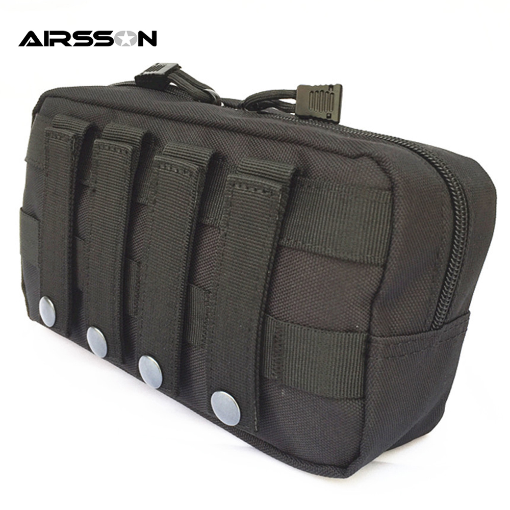 Tactical Molle Belt Pouch Military Bag Magazine Waterproof Waist Pack Sport Bags Carrier Cell Phone Holder For Backpack & Vest