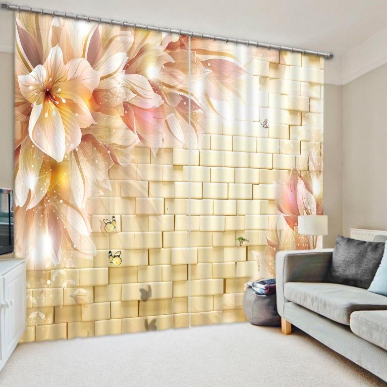 decoracin del hogar moderno d cortinas de encargo d foto flor cortinas ventana cortinas para la sala de cocina a medida