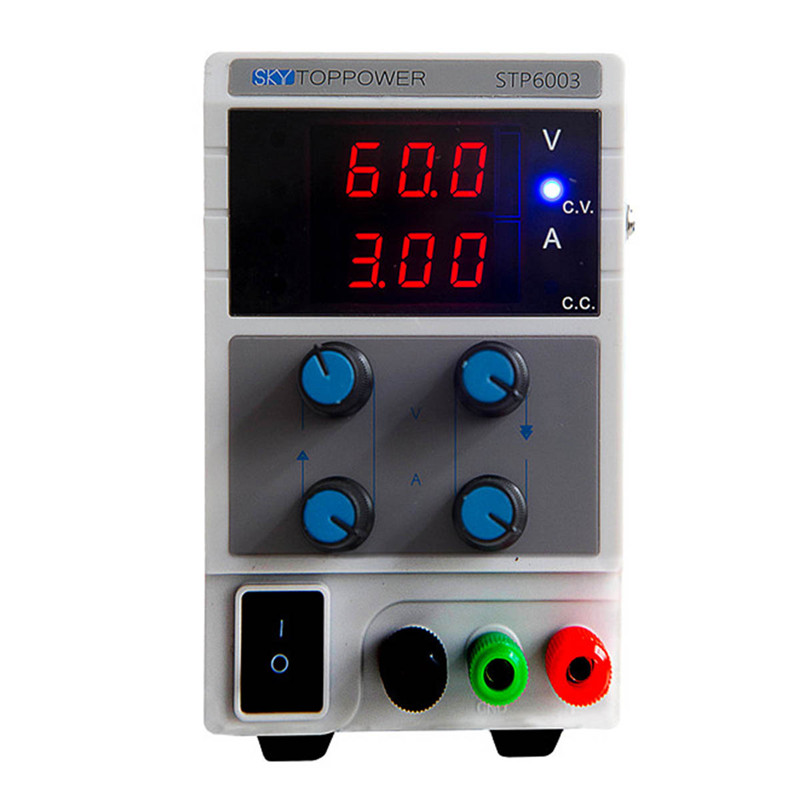 STP 115/230V Rework Station Mini Switching Regulated Adjustable DC Power Supply 60V 3A Variable power supply STP6003 kuaiqu mini dc power supply switching laboratory power supply digital variable adjustable power supply 0 60v 0 5a ps605d