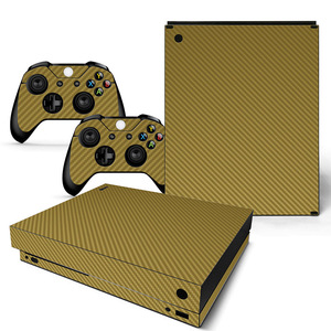 Image 3 - Vinyl Skin For Microsoft XBOX ONE X Console  and Controllers Sticker Cover Skins For X box One X Decal