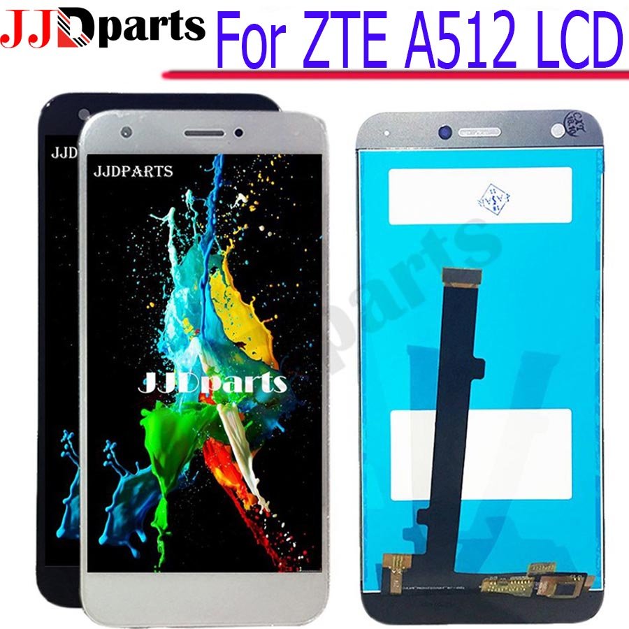 For ZTE Blade A512 LCD Screen 100 Tested LCD Display Digitize Assembly Touch Screen Replacement panel