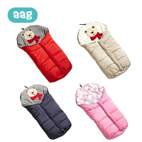 AAG Baby Sleeping Bag Winter For Stroller Bed Newborn Sleepsack Robe Autumn Winter Warm Soft Infant Envelopes Sleep Sack 40