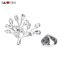 SAVOYSHI Cute Women Life Tree Brooches Christmas Jewelry gifts Of Suits Accessories Brooch Corsage Clothes broach