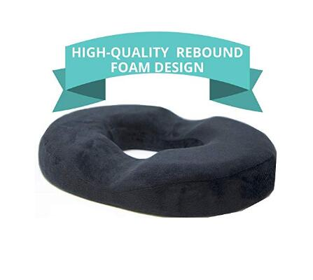 Donut Tailbone Pillow Hemorrhoid Seat Cushion For Prostate,Coccyx,Sciatica,Pregnancy,Post Natal Orthopedic Surgery-Good Support