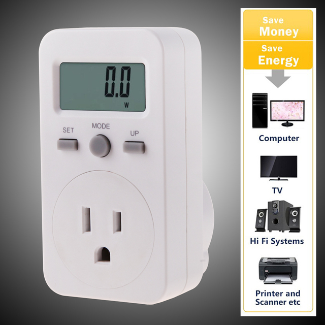 Multifunctional Energy Monitor Meter Power Socket Billing Metering Plug US  for Analyse Household items
