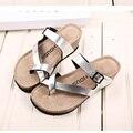 Mujeres Zapatillas de Marca de Moda Sandalias cómodas Sandalias Ocasionales de Las Mujeres zapatos de Tacón Alto de Las Mujeres Del Verano Cuñas Plataforma Zapatillas de Playa