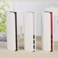 Wopow 10000 MAh Power Bank Three USB Large Capacity Powerbank Quick Charger External Battery For Phones