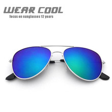 2019 Wear Cool Fashion Brand Women Sunglasses Top Sales Anti-Uv Lady Sun-Shading Eyeglasses Classic Retro Cute Pilot Sun Glasses