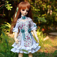 Doll woman dress-cloud dress Doll Accessories