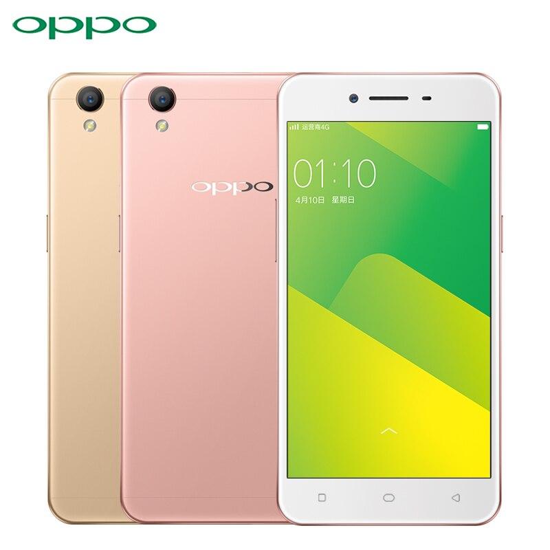 Original Oppo A37 Mobile Phone 4G LTE 5.0 inch Screen 2GB RAM 16GB ROM MTK6750 Octa Core Android 5.1 8.0MP Camera Smartphone