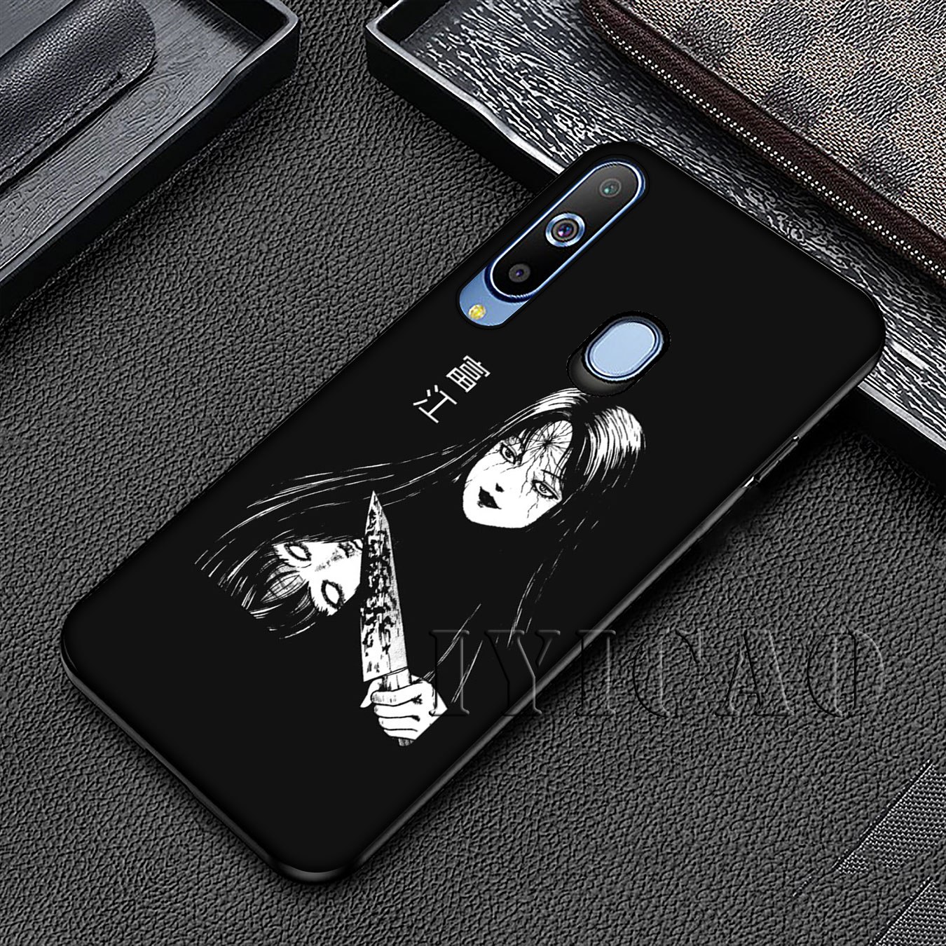 horror comic junji ito Tomie Tees Soft Silicone Case for Samsung Galaxy A70 A60 A50 A40 A30 A20 A10 A50S A40S A30S A20S A10S in Fitted Cases from Cellphones Telecommunications