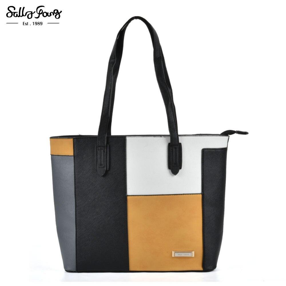 все цены на  Internation Brand Fashion 2017 Women Patchwork Tote Bag Plaid And Snakeskin Lady Shoulder Handbags 4 Color  онлайн