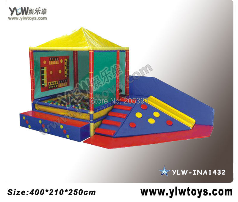 kids soft playground,Climbing a software package,soft play equipment ylw ce approved supermarket kids indoor playground equipment golden factory indoor soft play system