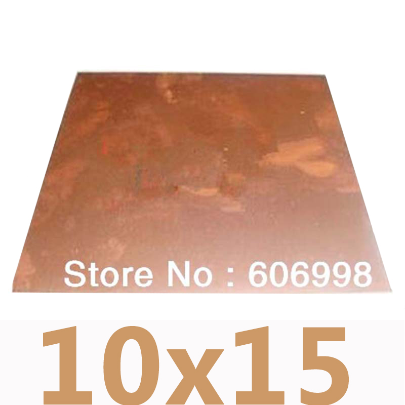 10*15CM Double Sided Copper Clad Glass Fiber PCB Board Thickness 1.5MM Universal Circuit Board