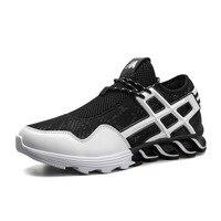 슈퍼 뜨거운 통기성 실행 신발 남성 운동화 바운스 여름 야외 스포츠 신발 전문 교육 신발 Chaussures 아저