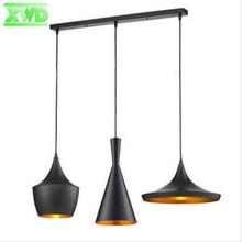 Современный привлекательный лампы музыкальный инструмент 1 компл. комплект из 3 предметов подвесные светильники ресторан висит кулон света для столовой DG503