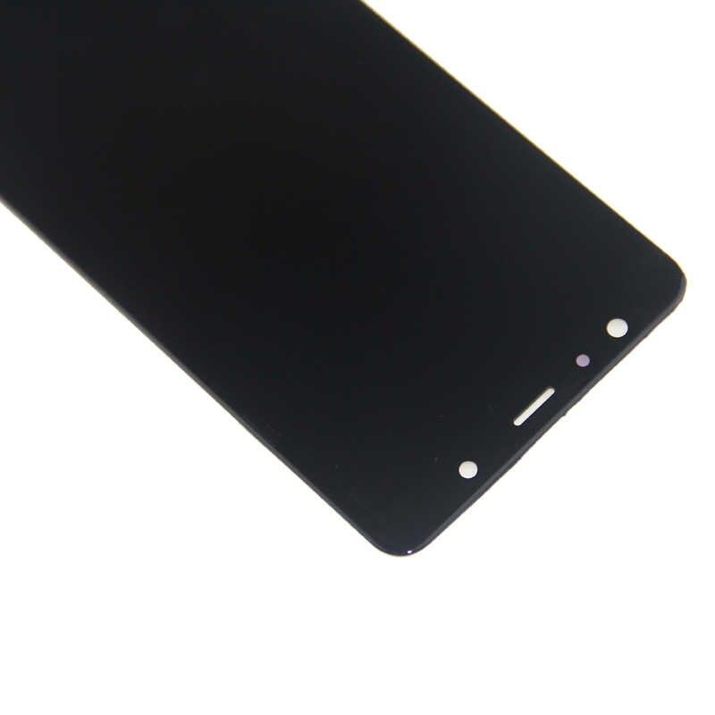 لسامسونج A750 شاشة الكريستال السائل محول الأرقام بشاشة تعمل بلمس لسامسونج غالاكسي A7 2018 A750 A750F SM-A750F A750FN LCD إصلاح أجزاء
