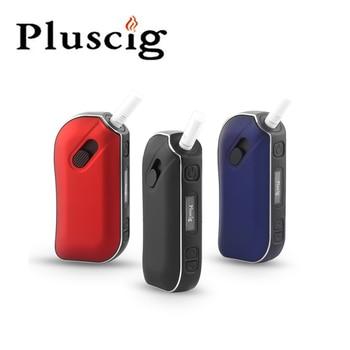 SMY Pluscig P2 LED Display Temp Control 1300mAh Battery Ecig Vape HNB Box Mob Vaporizer compatibility with iQOS stick