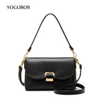 Simple Leather Handbags Hot Sale Women Envelope Clutches Ladies Party Purse Famous Designer Crossbody Shoulder Messenger
