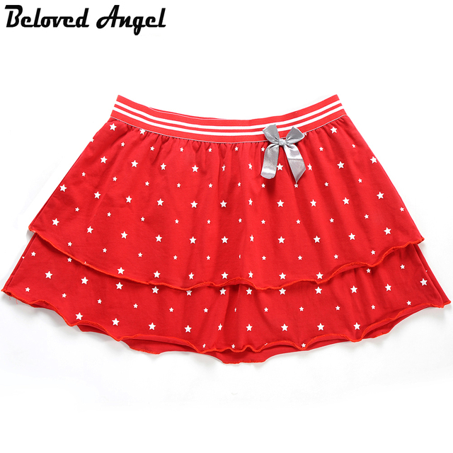 bf58bd5681b8 High Quality Stylish Girls Cotton Tutu Skirts Girl Dance Skirt ...