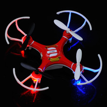 UAV RTF UFO Gyro Mini RC Quadcopter Helicopter Drone 2.4Ghz 4-Axis Red and White China In Stock