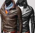 New Fashion Man short design mandarin Jacket  male zip  coat  winter coat