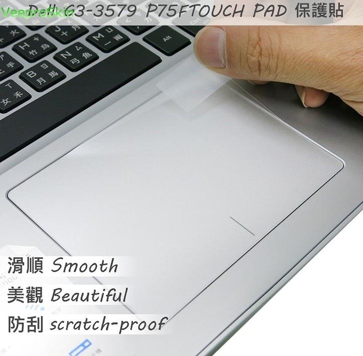 Tablet-zubehör Methodisch 2 Teile/paket Matte Touchpad Film Aufkleber Trackpad Protector Für Dell G3-3579 P75f Touch Pad QualitäT Und QuantitäT Gesichert Tablet-display-schutzfolien
