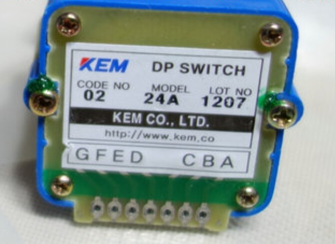 02 24A  Rotary switches band switch KEM Digital feed override switch Spindle override CNC panel knob switch