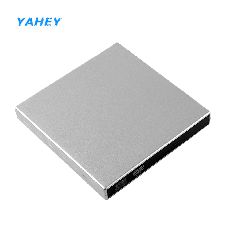 USB 2.0 CD RW Drive External DVD ROM Optical Drive CD RW Burner CD ROM DVD ROM Player Portable slim for Laptop Apple macbook active listening 3 cd rom