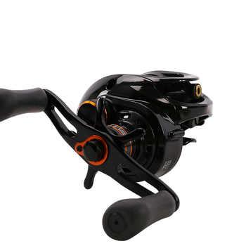 TSURINOYA HE-150R/L Baitcasting Reel 6+1BB/6.6:1/4kg 216g Lure Casting Fishing Reels Carretilhas De Pescaria Pesca Moulinet Coil